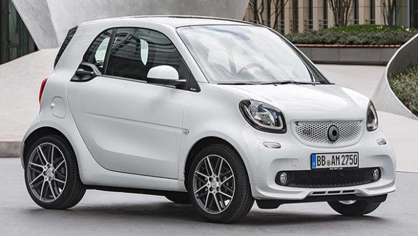 Rental Car Gran Canaria Smart Four two