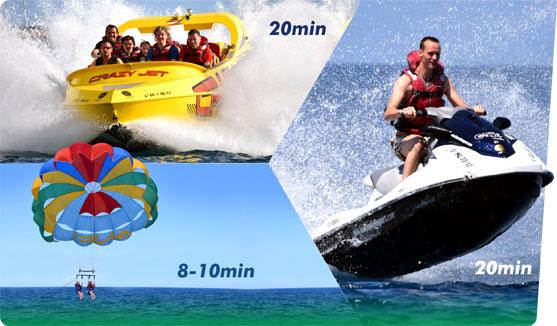 Water Sport Gran Canaria Adrenaline Pack