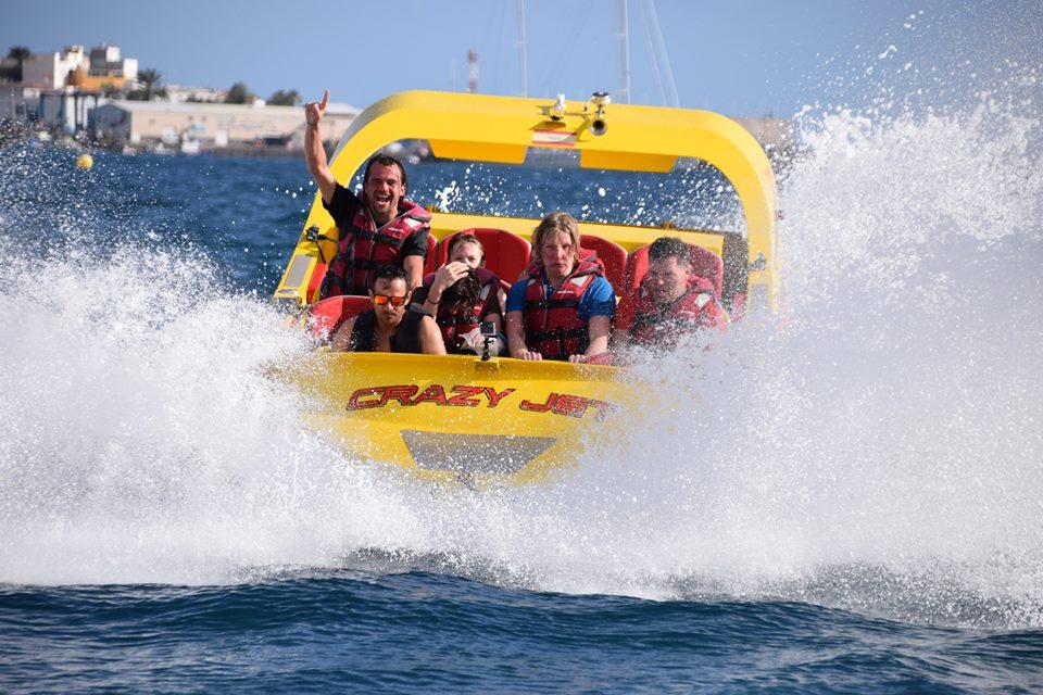 Crazy Jet Boat Gran Canaria