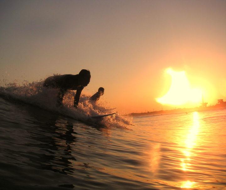 Sunset Surf Gran Canaria